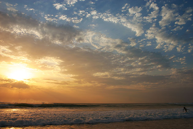 Urlaubsfotografie Landschaft Sonnenuntergang
